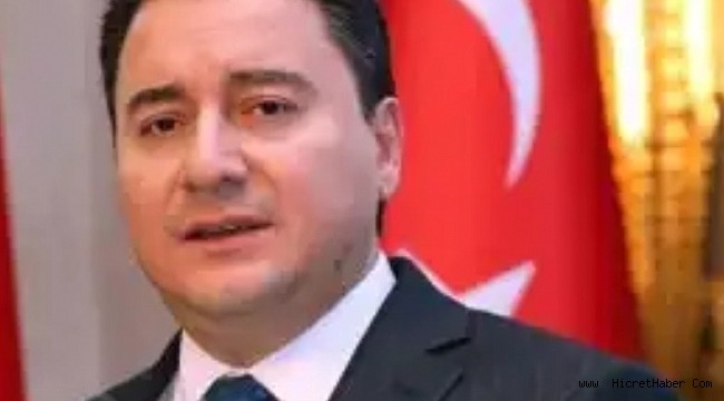 Ali Babacan, kurucusu olduğu partisi AKP'den istifa etti.