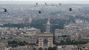 Fransa'da 14 Temmuz Ulusal Bayramı kutlamaları