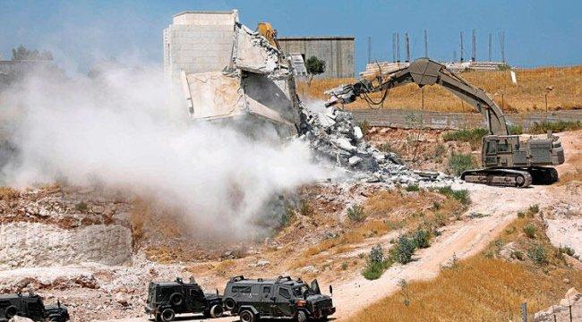 İsrail'den Doğu Kudüs'te yıkım adımı