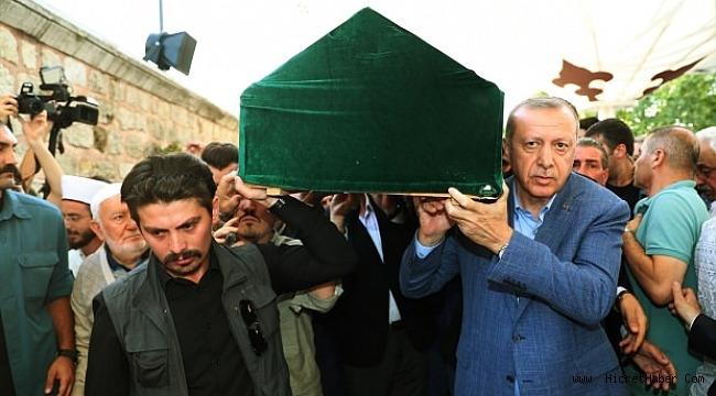 Mehmed Şevket Eygi Cenaze törenine Başkan Erdoğan da katıldı.