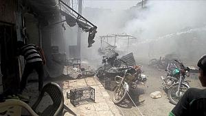 Suriye'nin kuzeyinde eş zamanlı bombalı saldırı