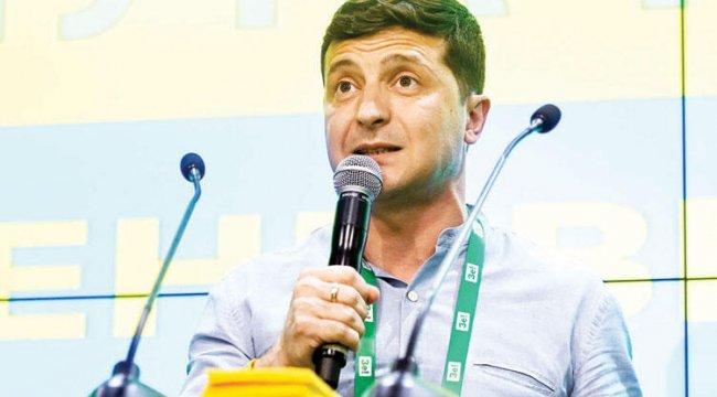 Zelenski Ukrayna'da tarih yazıyor