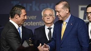 Ali Koç'tan Cumhurbaşkanı Erdoğan'a 25. yıl tebriği