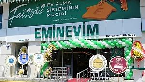 Bursa'nın İstihdam Ve Ekonomisine Eminevim'den Destek
