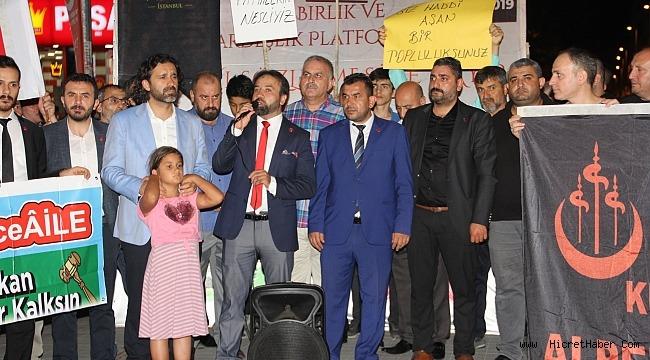 Milli Birlik Ve Kardeşlik Platformu ''İSTANBUL SÖZLEŞMESİ''ne Hayır dedi.