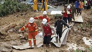 Myanmar'daki toprak kaymasında ölü sayısı 69'a çıktı