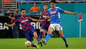 ÖZET | Eljif Elmas sahnede! Barcelona, Napoli'yi yendi
