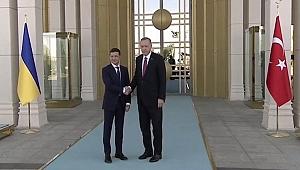 Son dakika... Ukrayna lideri Zelenskiy Türkiye'de