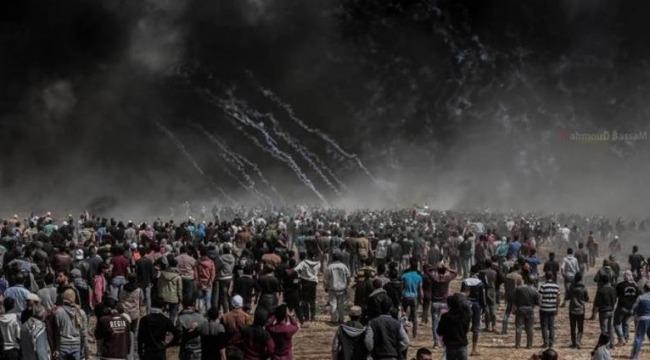 İşgal Güçleri Batı Şeria'da 8 Filistinliyi Yaraladı