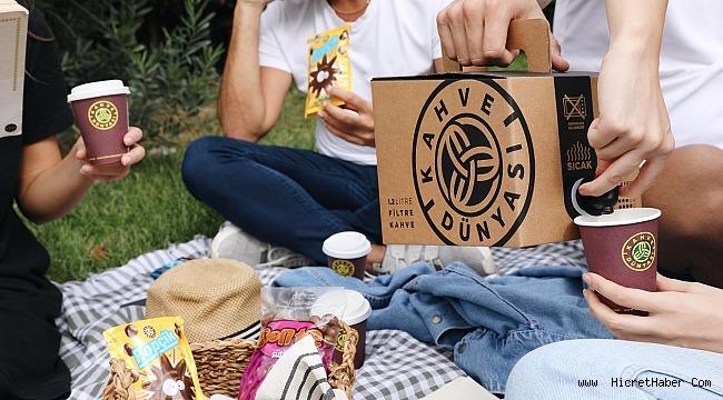 Litrelik Filtre Kahve, Kahve Dünyası Mağazalarında!