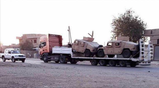 ABD'den YPG/PKK sahasına bir haftada 300 TIR daha