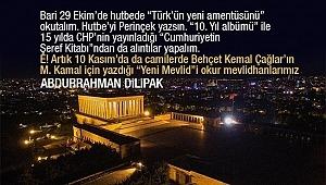 Abdurrahman Dilipak : 29 Ekim mi?