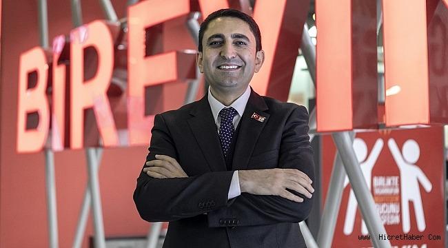 """Birevim Yönetim Kurulu Başkanı Murat Çiftçi""""Genç ve Kalifiye işgücü istihdamı büyüyor."""