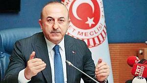 Çavuşoğlu: Rusya, YPG'yi bölgeden çıkartırsa karşı çıkmayız