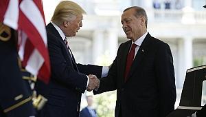 Erdoğan'dan görüşme ile ilgili açıklama: Güvenli bölgeyi görüştük
