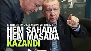 Erdoğan hem sahada hem masada kazandı