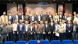 Gökçen Göksal,Sinoplu Milli Görüşçüler Organizasyonu (SİMGO) Başkanı seçildi