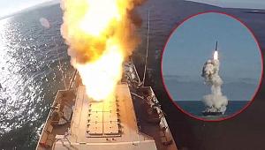Görüntüler yayınlandı! 16 kez balistik füze ateşlediler!