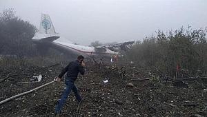 İstanbul'a geliyordu... Ukrayna'da uçak kazası: 5 ölü
