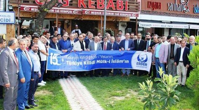 İstanbul'da Erzurum'lular Türkiye'nin Birlik ve Beraberliği Arttırmak İçin Bir Araya Geldiler