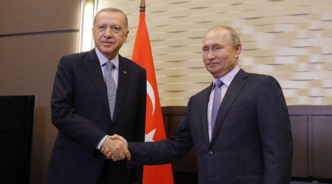 Kritik zirve öncesi Cumhurbaşkanı Erdoğan ve Putin'den önemli açıklamalar