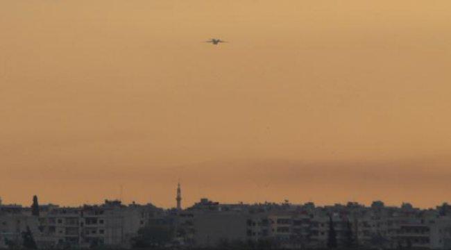 Rus askerlerini taşıyan uçak Kamışlı'ya indi