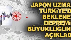 Türkiye'de beklenen depremin büyüklüğü nedir?