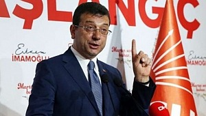CHP'li İ.B.B. Başkanı İmamoğlu 'Kanal İstanbul' projesine karşı çıktı.