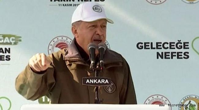 Cumhurbaşkanı Erdoğan'dan İmamoğlu'nun rezaletine sert tepki