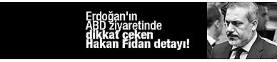 Erdoğan'ın ABD ziyaretinde dikkat çeken Hakan Fidan detayı!