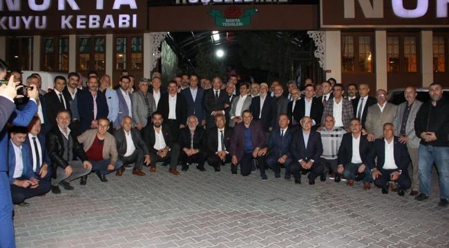 Erzurum Dostluk Gurubu istişare toplantısında Birlik ve Beraberlik mesajı çıktı.