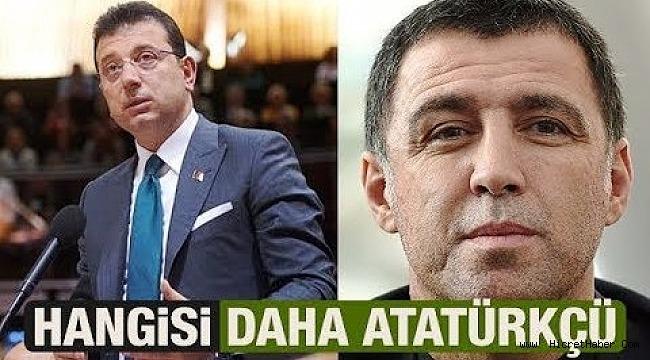 Hakan Şükür mü daha çok Atatürkçü Ekrem Bey mi?