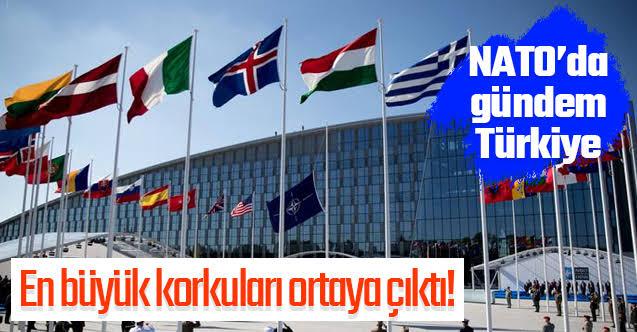 NATO'da gündem Türkiye!