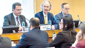 Suriye Anayasa Komitesi'nde ilk adım tamam