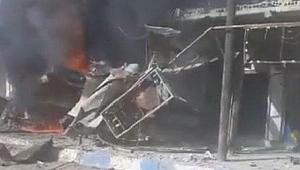Tel Abyad'da PKK/PYD'li teröristlerce bombalı saldırı: 8 ölü