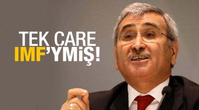 Akşener'in adamı Durmuş Yılmaz IMF'yi çare olarak gösterdi