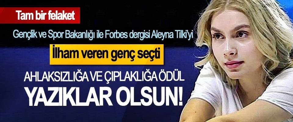 Aleyna Tilki'ye verilen ödüle, Dilipak sert çıktı.