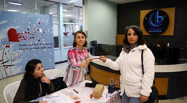 Bağcılar Belediyesi personelinden organ bağışına yoğun ilgi