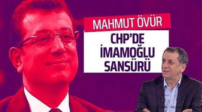 CHP'de İmamoğlu sansürü