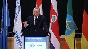 Cumhurbaşkanı Recep Tayyip 1. Küresel Mülteci Forumu'nda konuştu