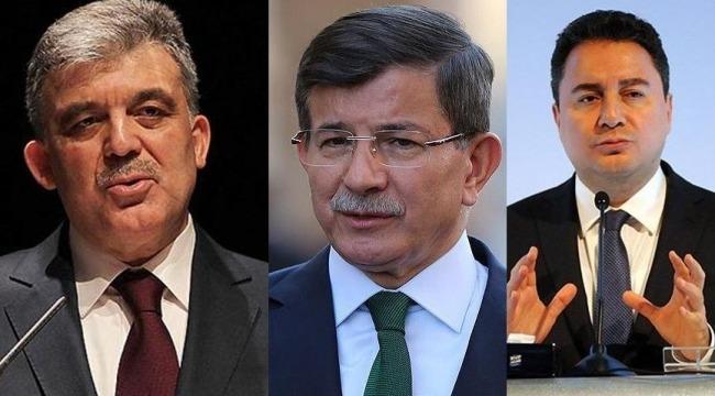 Gül, Babacan ve Davutoğlu'na sorular