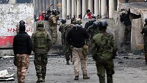 Irak'ta gösteriler nedeniyle ilk defa petrol üretimi askıya alındı