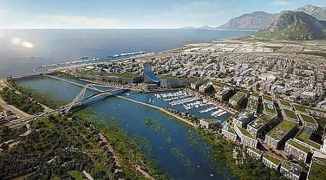 Kanal İstanbul'da imzalar atıldı.