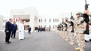 Katar'da Türk kışlası açıldı