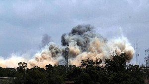Libya'daki Hafter güçleri Zaviye kentinde mühendislik enstitüsünü bombaladı