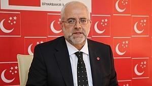 Saadet Partisi Diyarbakır İl Başkanı Şeyh Sait için basın açıklaması yaptı