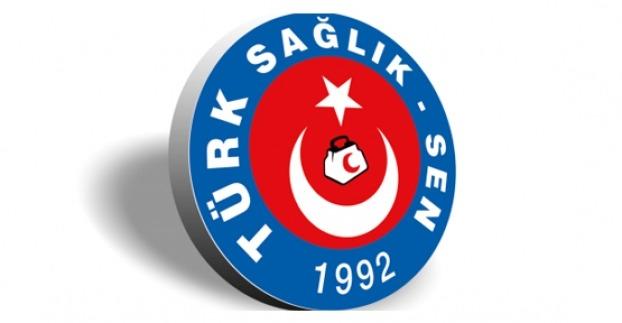 Türk Sağlık Sen Basın Açıklamasına Müdahale edildi