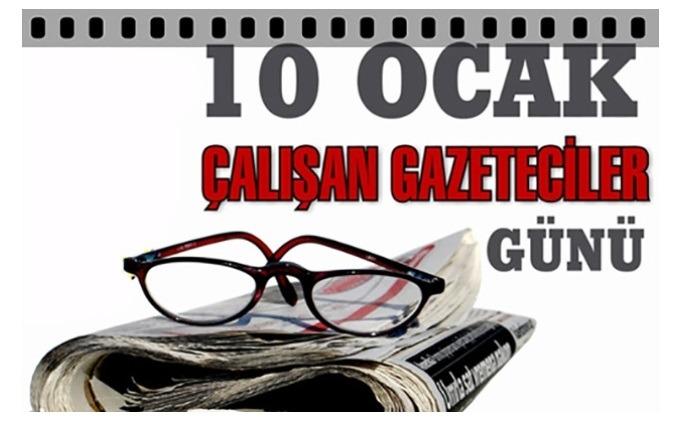 """10 Ocak 1961'de 212 Sayılı Basın Yasası ile '""""Çalışan Gazeteciler Günü """"kutlu olsun"""