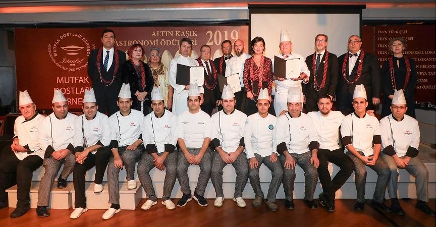 """""""Altın Kaşık Gastronomi Ödülleri""""Sahiplerini buldu"""