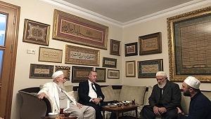 Başkan Erdoğan'dan İsmailağa Cemaati'ne ziyaret
